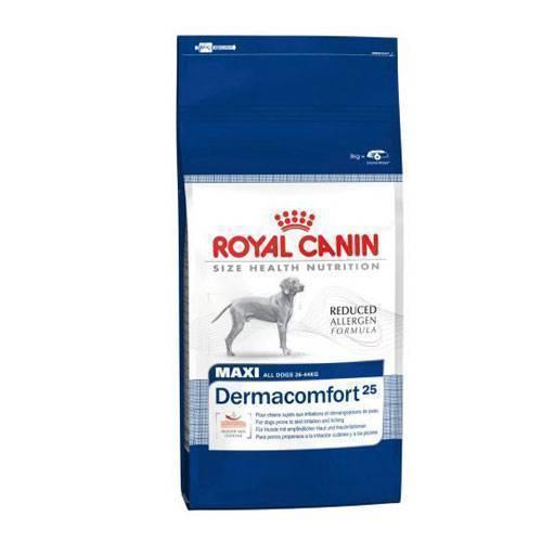 Корм royal canin dermacomfort mini